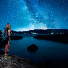 night stars hike Tahoe hiking tours moon adventure