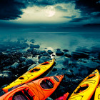 moon kayak Tahoe tour star adventure