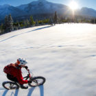 Winter Tahoe tour - snowshoeing paddle and kayaking adventure